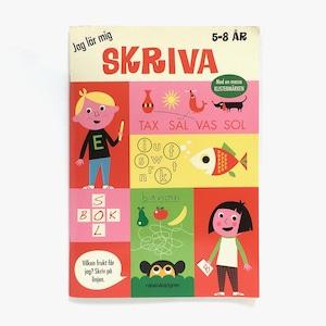 スウェーデン語ワークブック「Jag lär mig SKRIVA(書き方を学ぶよ)」《2012-01》