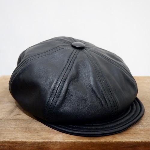 【新品】USA製 NewYork Hat Lambskin Leather Spitfire