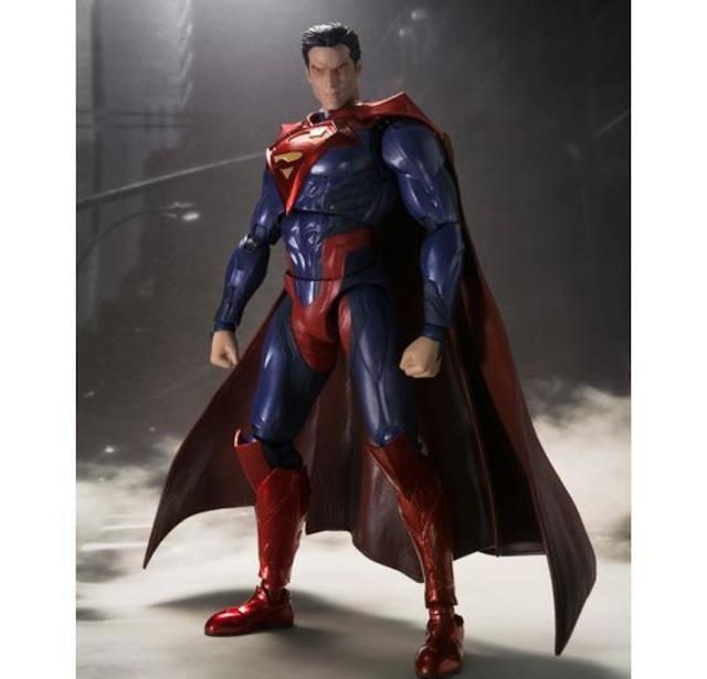 S.H.Figuarts SUPERMAN INJUSTICE Ver. - Action Figure Premium Bandai Exclusive