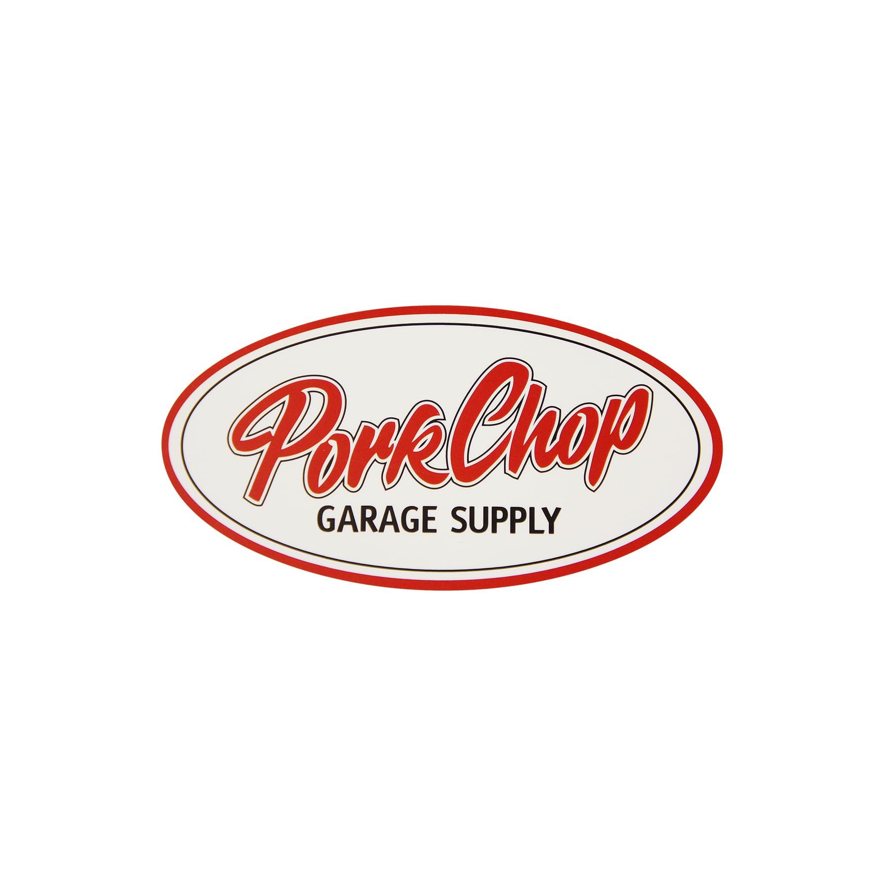 PORKCHOP OVAL STICKER / SMALL