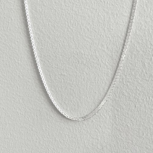 【SV1-49】18inch silver chain necklace