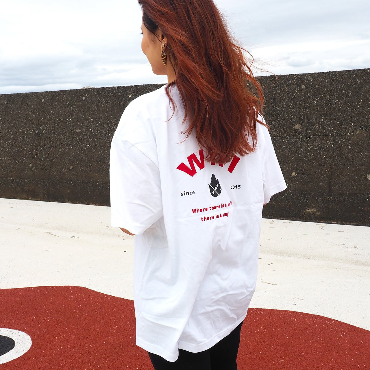 WillxWill 「Where there is a will, there is a way」T-shirts White