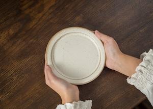 SHIROUMA 洋皿 15cm 白(小皿・デザート皿・ソーサー)/長谷川 哲也