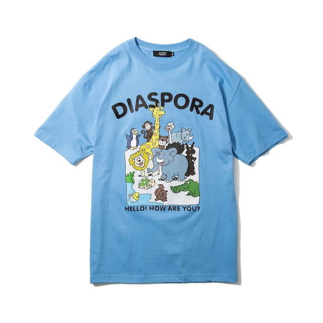 DIASPORA SKATEBOARDS Greeting Tee Sax
