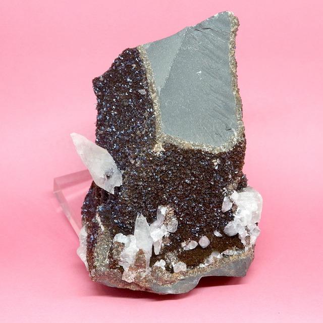 希少!アイオワ州産 イリデッセント カルサイト   原石  564,2g IRI018 鉱物 天然石 パワーストーン