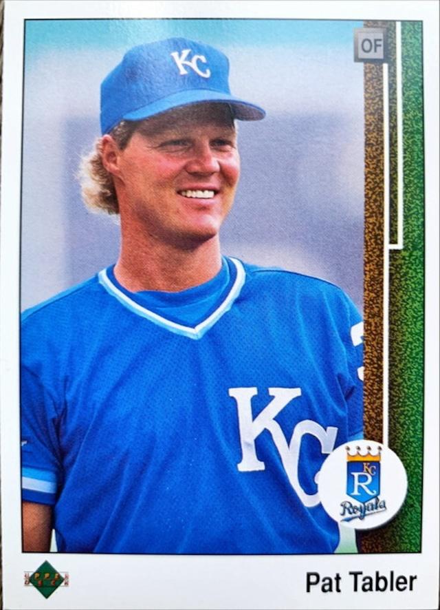 MLBカード 89UPPERDECK Pat Tabler #233 ROYALS