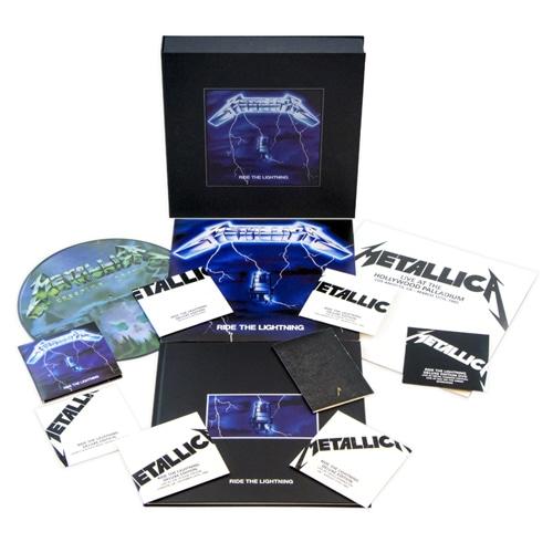 """【完全数量限定】METALLICA """"RIDE THE LIGHTNING"""" リマスター・デラックス・ボックス・セット"""
