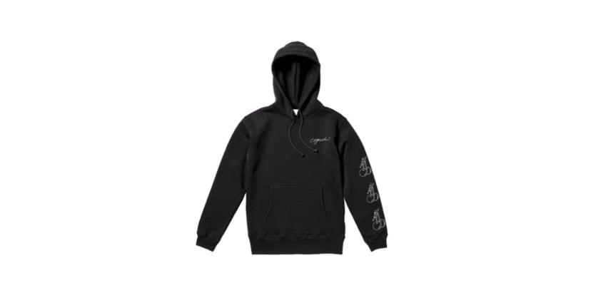 coguchi cherry hoodie (BLK)