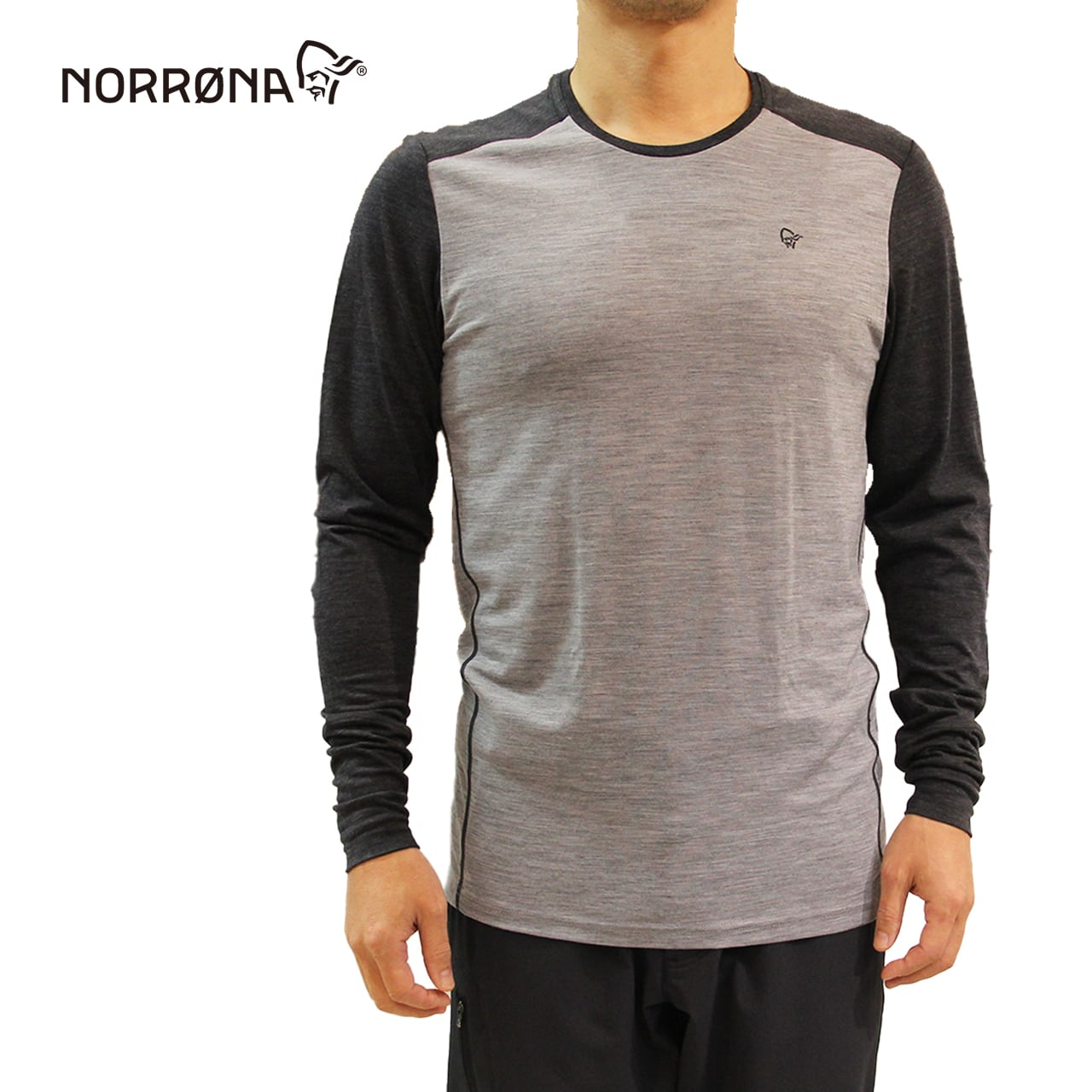 NORRONA   Wool round Neck