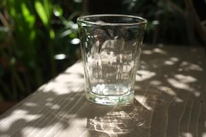 ◆三宅吹硝子工房◆三宅義一◆◆◆『⁂吹き硝子のコップ』◆◆◆透明