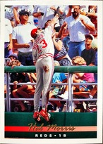 MLBカード 93UPPERDECK Hal Morris #121 REDS