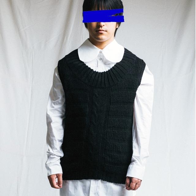 MIAO RAN - Knitwear black - FW18-MAG 01