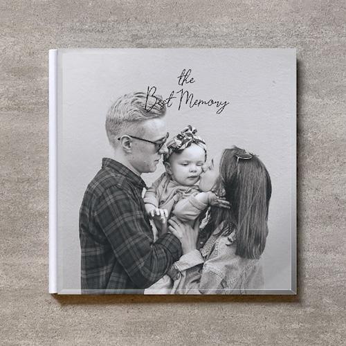 Monochrome-FAMILY_A4スクエア_6ページ/6カット_クラシックアルバム(アクリルカバー)