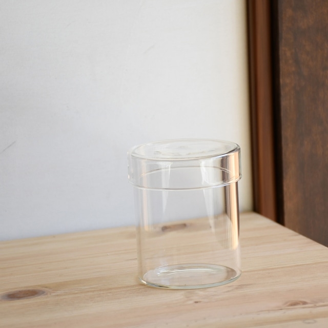 【ガラス容器】シリンダーS(直径72xh85mm)