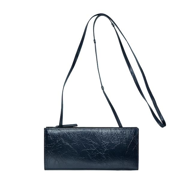 《財布ポーチS》TIN BREATH Travel purse Midnight black