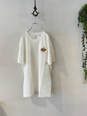 TACOMA FUJI RECORDS / 100% ALL GOOD! Embroidery Tee designed by Akinobu Maeda