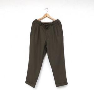 SAGE DE CRET   9/10 Length Two-Tuck Tapered Pants