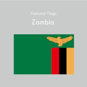 国旗ステッカー ザンビア
