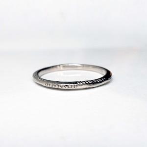 Layered Ring / Dewdrop Ring (WG)
