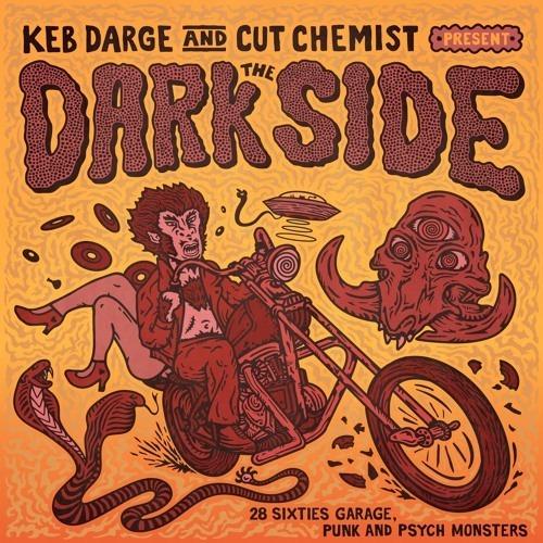 """【ラスト1/CD】Keb Darge & Cut Chemist - The Dark Side """"30 Sixties Garage Punk And Psyche Monsters"""""""