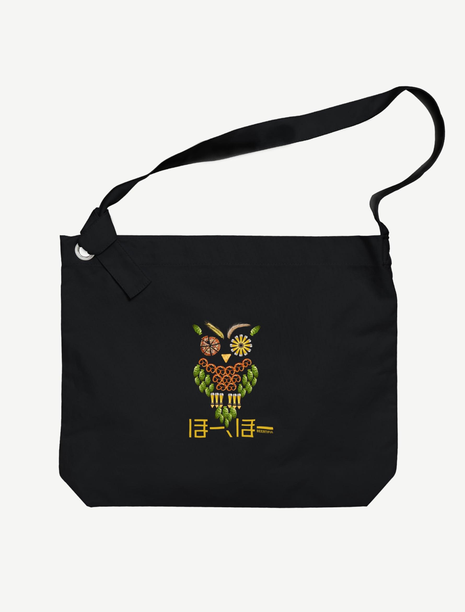 【フクロウ】ビッグショルダーバッグ