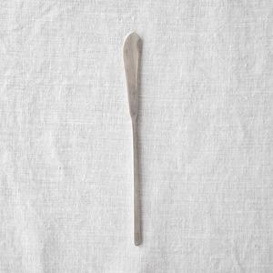 三輪周太郎 Shutaro Miwa   銀製バターナイフ