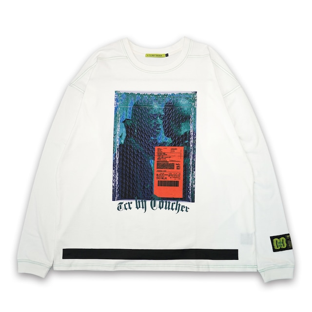 T.C.R L&P PACKING L/S TEE - WHITE