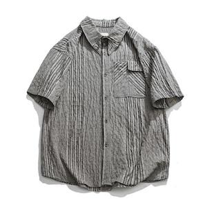 【UNISEX】ショートスリーブ グラフチェック シャツ【2colors】
