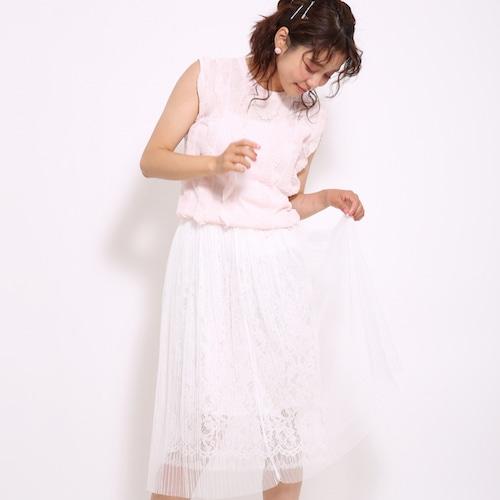 【即日発送】チュールプリーツスカート