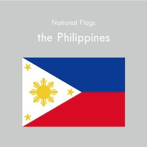 国旗ステッカー フィリピン