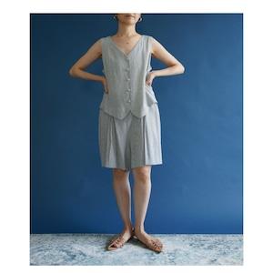 【送料無料】Stripe short jumpsuit(ストライプ ショート ジャンプスーツ)