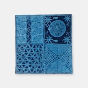 ナイジェリア ヨルバ族の藍染布 アディレ・エレコの風呂敷 SL041