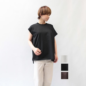 RIM.ARK(リムアーク) Asymmetry square knit tops 2021春夏新作 [送料無料]