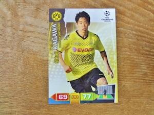 香川真司 2011-12 PANINI UEFA CHAMPIONS LEAGUE ADRENALYN XL