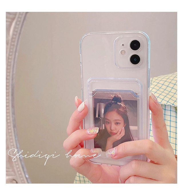 Simple card holder iphone case