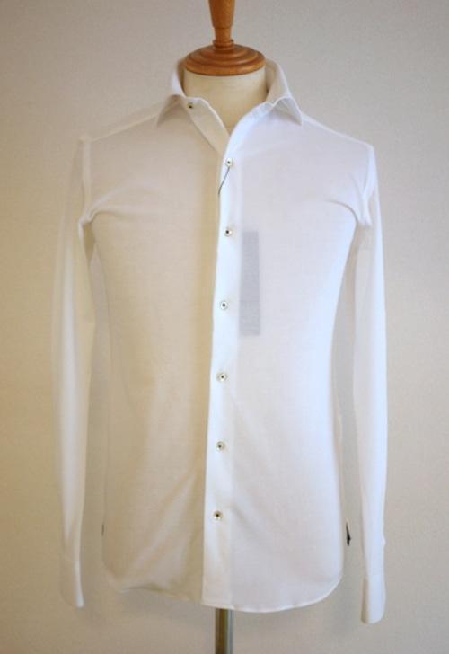 High-Gauge Kanoko Shirts WHITE