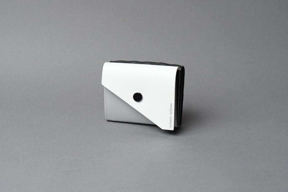 Double Flap ダブルフラップ W □WH-LG-BK□ - 画像1