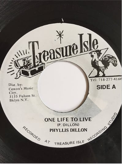 Phyllis Dillon(フィリスディロン) - One Life To Live【7inch】