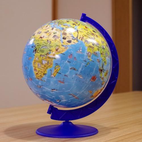 ラベンスバーガー 3Dパズル どうぶつ地球儀