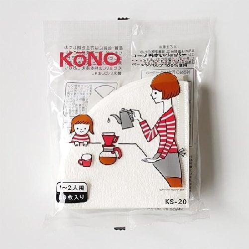 KONO 円すいペーパー2人用(40枚入り)