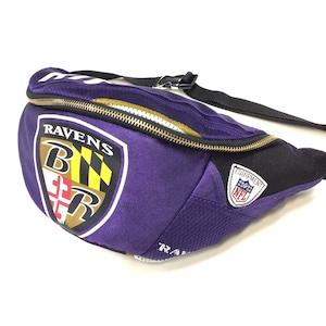 ウエストバッグ Waist bag sports purple 【waist003】