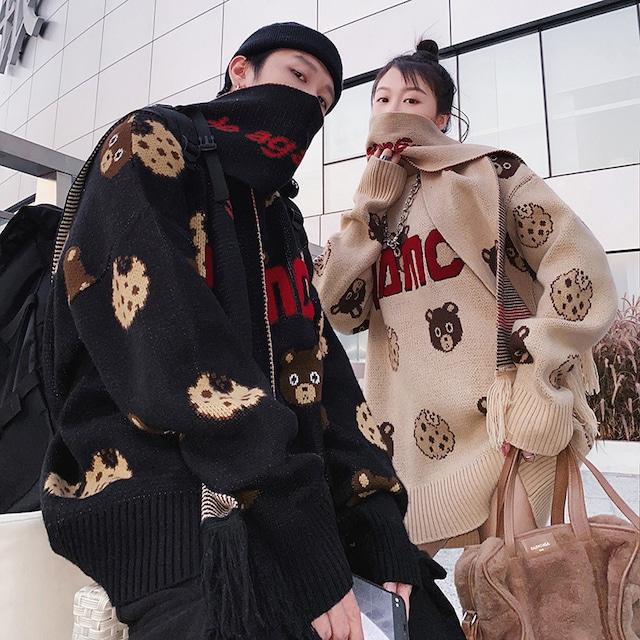 【メンズファッション】絶対欲しい プリント シンプル 韓国系 セーター53914846