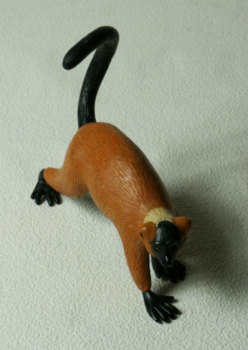 COOL氏 NO.13「Red ru_ed lemur」ANIMALSシリーズ