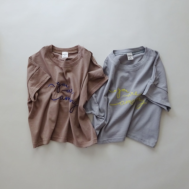 You are amazing Tシャツ [brown]