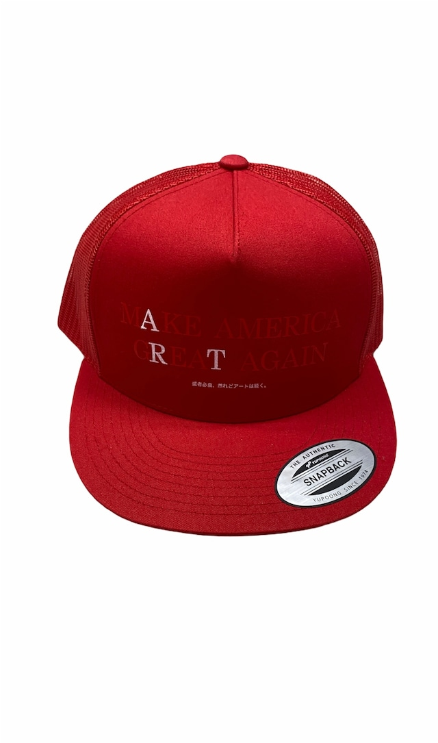TODAY edition / Art Mesh Cap(RED)