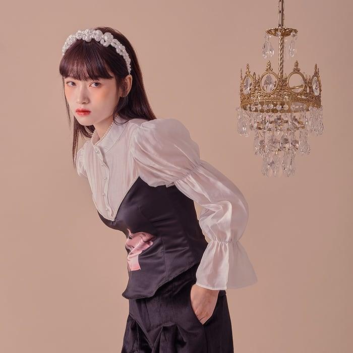 Rabbit Maiden blouse