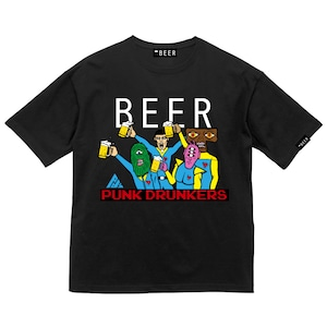PUNK DRUNKERS&BEER コラボT ブラック