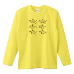 ネオンテトラ兄弟 / 5.6オンスロングTシャツ (Printstar)