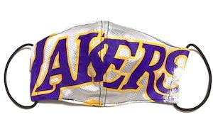 【デザイナーズマスク 吸水速乾COOLMAX使用 日本製】NBA LAKERS SPORTS SPECIAL MASK CTMR 0225004