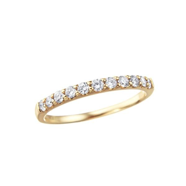 K10YGダイヤモンドリング 010201008994